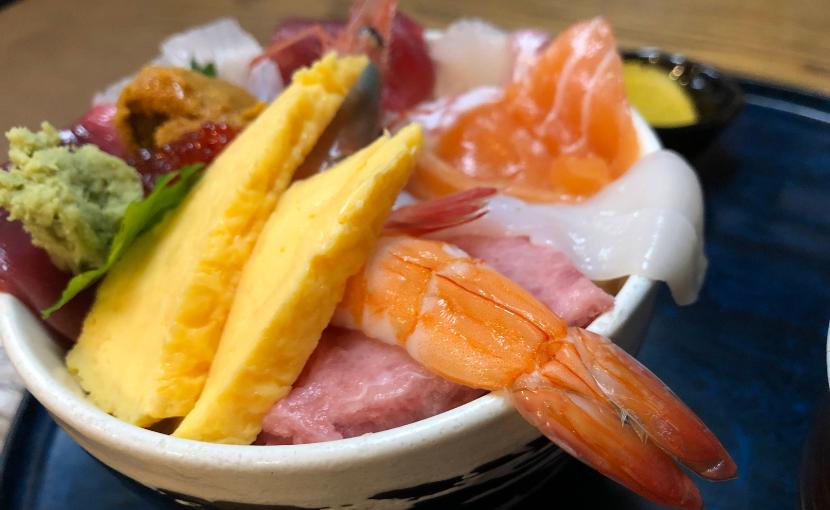 仙台東屋おみくじ丼(海鮮丼)